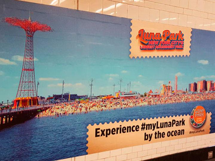 El luna park, un parque de diversiones en Nueva York