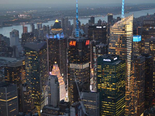 Nueva York desde las alturas y sus miradores más famosos