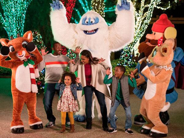 Todos los días es Navidad en Busch Gardens