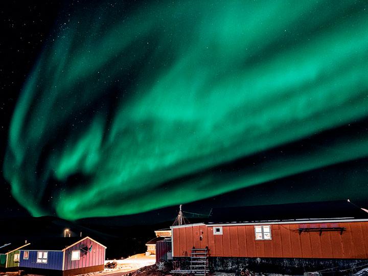 El hotel más remoto queda en Groenlandia