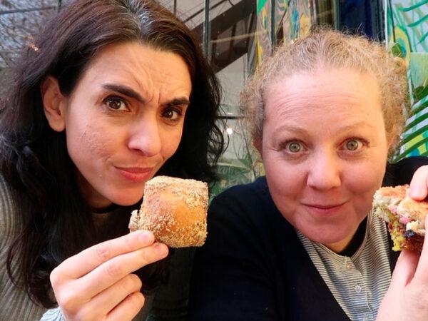 Probamos comida vegana y nos encantó!