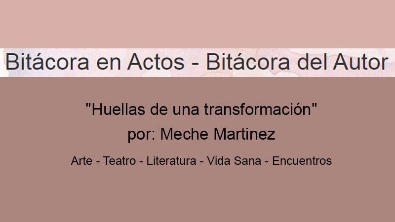 Modo Turista en Bitacora en Actos de Meche Martinez